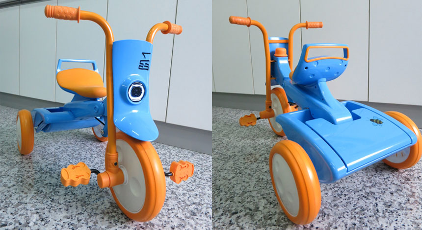 Folding tricycle modz 3 colors