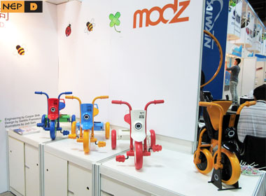 Folding tricycle modz(Taipei Cycle d & i Awards)